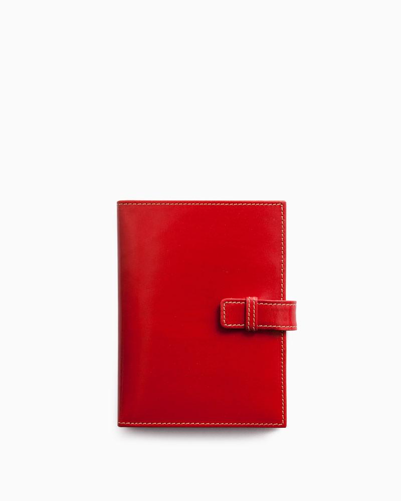 ホワイトハウスコックス【Whitehouse Cox】型番:S1071(レッド) ステーショナリー アクセサリー メモ帳カバー ビジネスツール ブライドルレザー 牛革 男女兼用