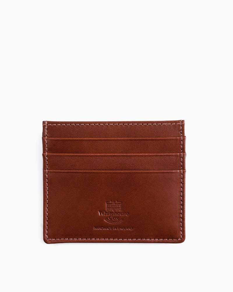 ホワイトハウスコックス【Whitehouse Cox】型番:S1014(タン) カードケース パスケース シャドーカーフ 牛革 男女兼用