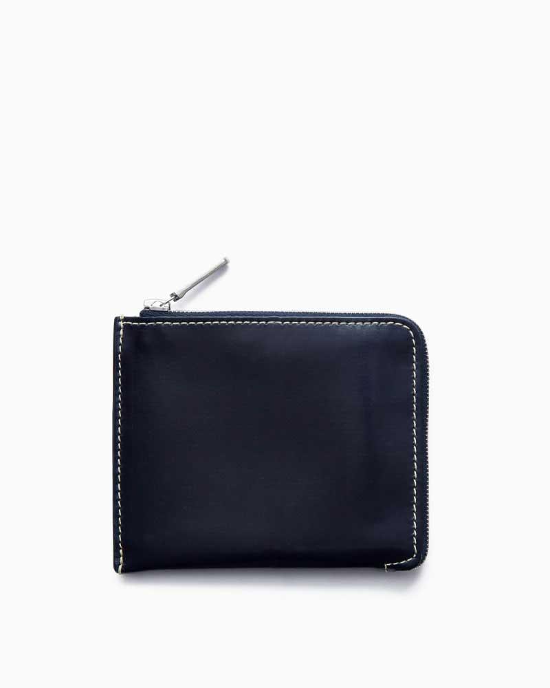 ホワイトハウスコックス【Whitehouse Cox】型番:S3068(ネイビー) 財布 ジップウォレット ジップラウンド ブライドルレザー 牛革 男女兼用