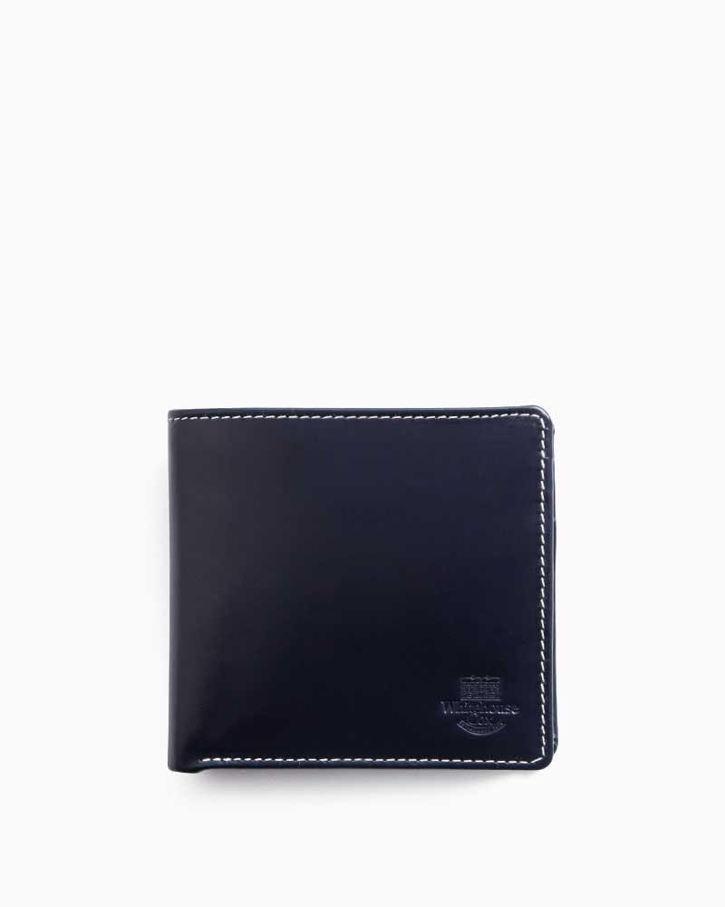ea1b6c30394d ... ホワイトハウスコックス | Whitehouse Cox | 型番:S7532(ネイビー | /パープル) | 二つ折り財布 | ツートン |  ホリデーラインカラー | 牛革 | 男女兼用