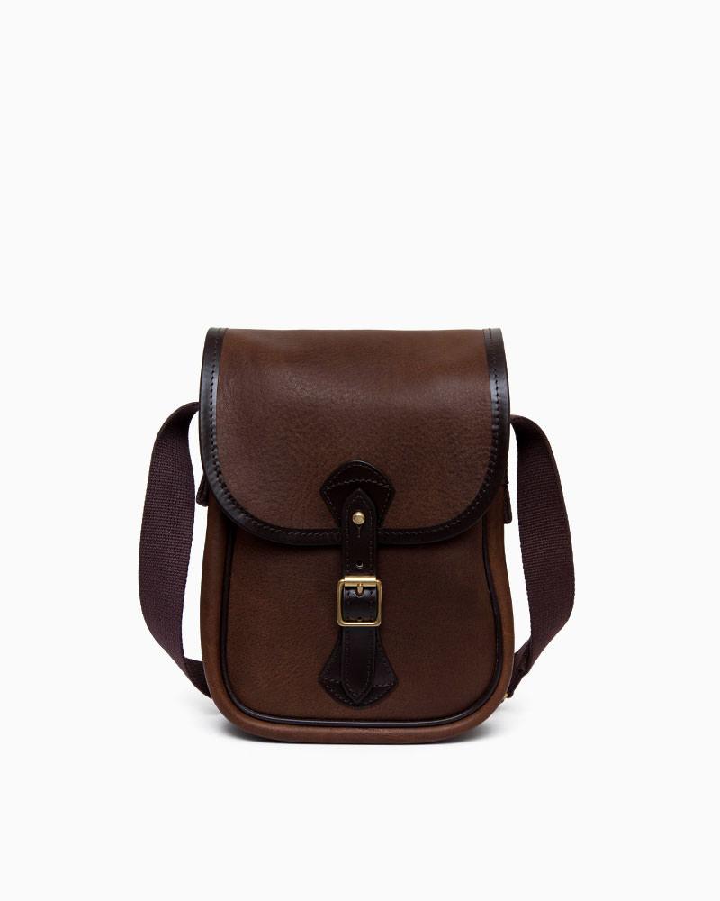 ホワイトハウスコックス【Whitehouse Cox】型番:L9762(ブラウン) スモールショルダーバッグ 鞄 サファリレザー 牛革