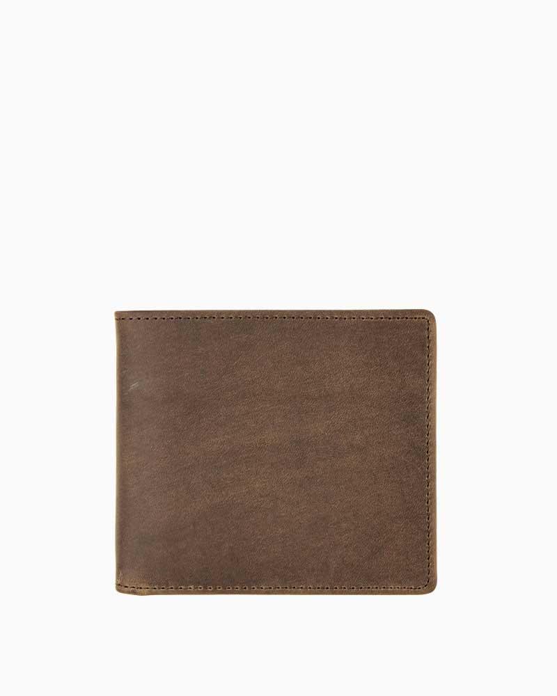 セトラー【SETTLER】型番:OW1563(ブラウン) カウハイド 財布 二つ折り財布