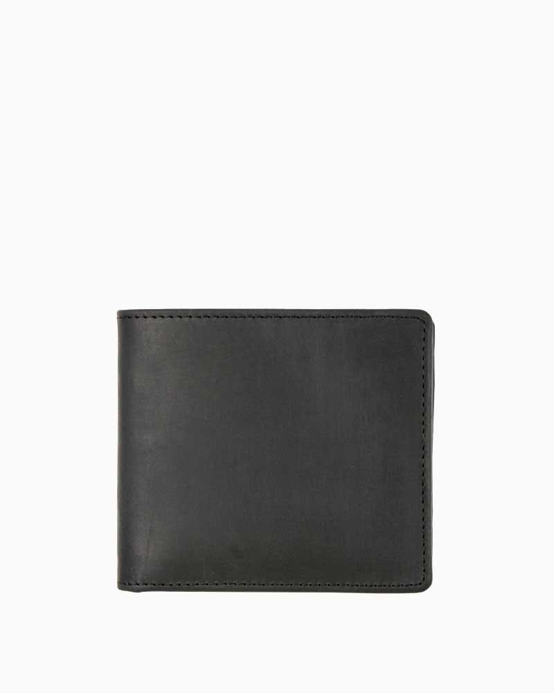 セトラー【SETTLER】型番:OW1563(ブラック) カウハイド 財布 二つ折り財布