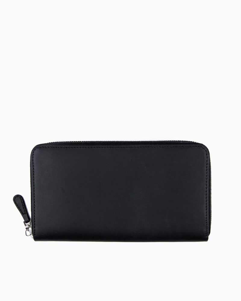セトラー【SETTLER】型番:OW1760(ブラック) カウハイド 財布 長財布 ロングウォレット 男女兼用