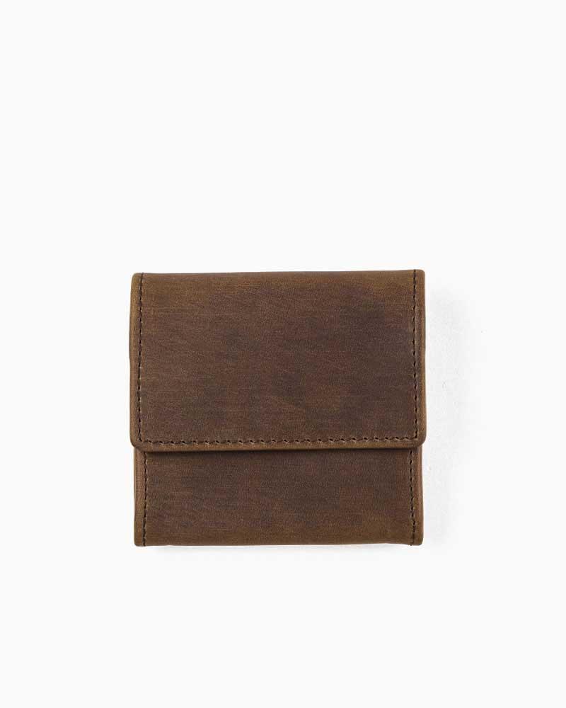 セトラー【SETTLER】型番:OW0890(ブラウン) カウハイド 財布 小銭入れ コインケース 男女兼用