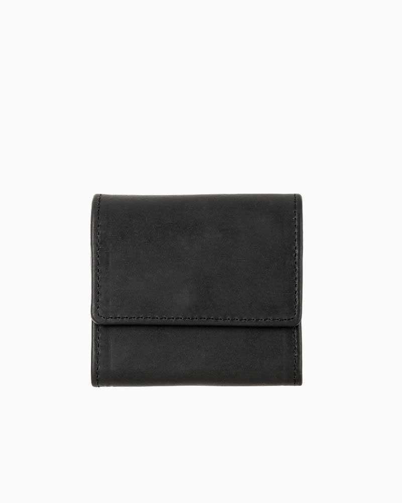 セトラー【SETTLER】型番:OW0890(ブラック) カウハイド 財布 小銭入れ コインケース 男女兼用
