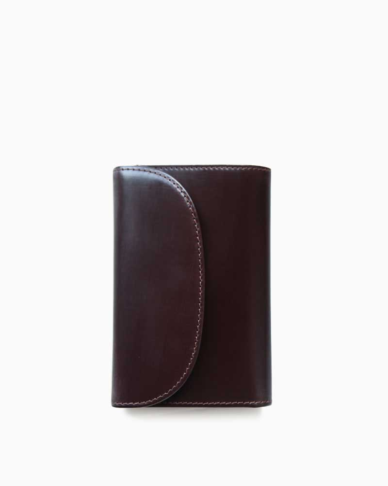 ホワイトハウスコックス【Whitehouse Cox】型番:S7660(ハバナ) 財布 三つ折り財布 ブライドルレザー 牛革 男女兼用