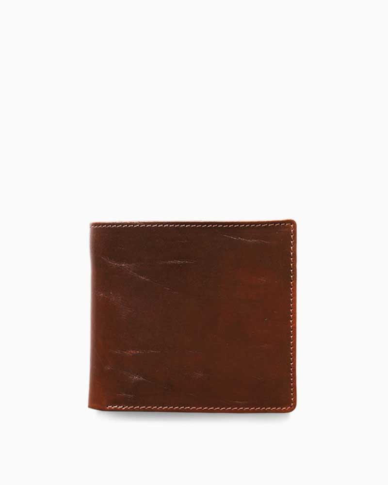 ホワイトハウスコックス【Whitehouse Cox】型番:S7532(コンカー×ナチュラル) 財布 二つ折り財布 ツートン ヴィンテージブライドルレザー 牛革 男女兼用 (ブラウン)(ベージュ)