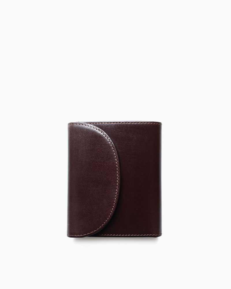 ホワイトハウスコックス【Whitehouse Cox】型番:S1058(ハバナ) 財布 三つ折り財布 ブライドルレザー 牛革 男女兼用(ブラウン)