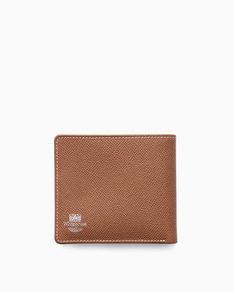 ホワイトハウスコックス【Whitehouse Cox】型番:S8772(タン×ハバナ) 財布 二つ折り財布 ツートン ロンドンカーフ×ブライドルレザー 牛革 男女兼用(タン)(ブラウン)