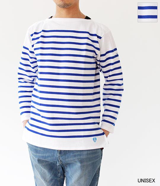 [ORCIVAL]オーチバル・オーシバル RC01 ボーダーバスクシャツ(ユニセックス) 6101
