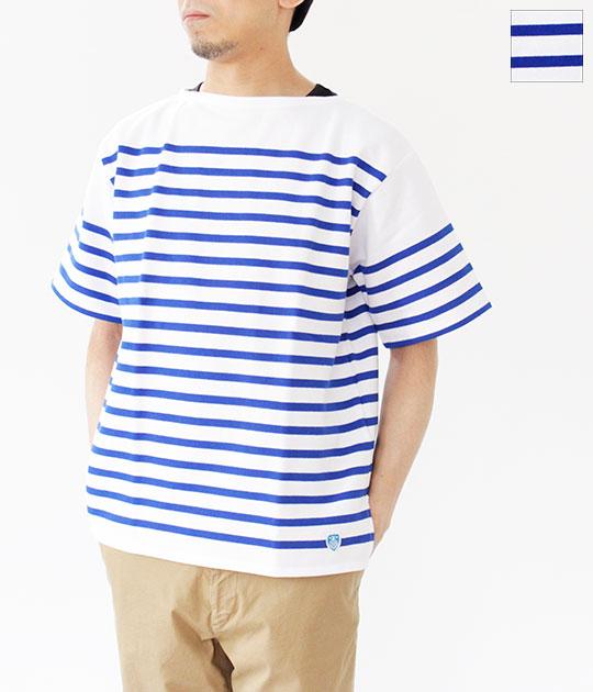 [ORCIVAL]オーチバル・オーシバル RC01 ラッセル半袖ボーダーバスクシャツ 6116