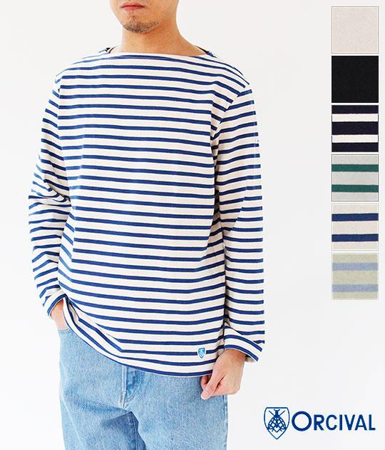 [ORCIVAL]オーチバル・オーシバル COTTON LOURD バスクシャツ(MEN'S) B211