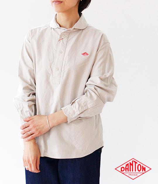[DANTON]ダントン OXFORD 長袖プルオーバーシャツ JD-3564 YOX