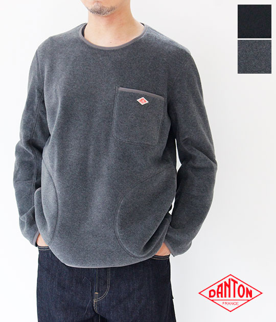 [DANTON]ダントン  FLEECE プルオーバー(メンズ)JD-8998