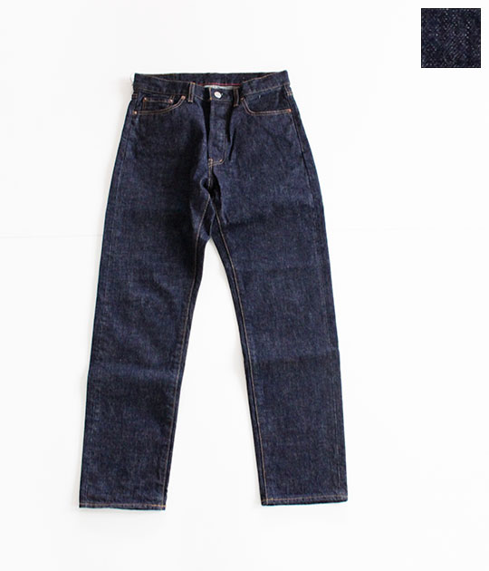 [Ordinary fits]オーディナリーフィッツ Ordinary fits[オーディナリーフィッツ] STANDARD 5P DENIM one wash OM-P122OW