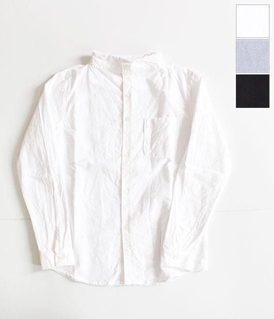 [nisica]ニシカ オックスガンジーネックシャツ NIS-863