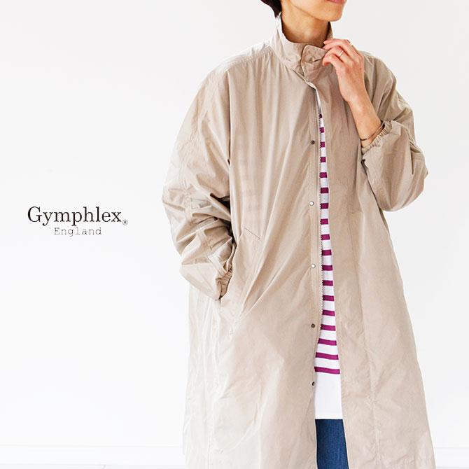 Gymphlex ジムフレックス MICRO TAFFETA スタンドカラーコート J 1419 TIM34ASRjcq5L