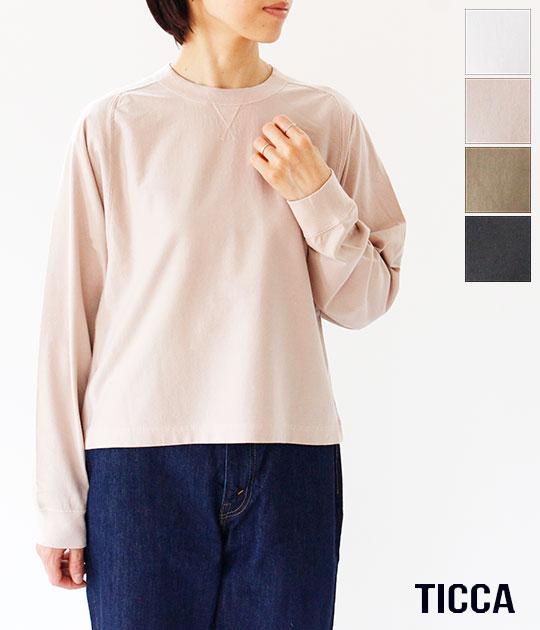 [TICCA]ティッカ ロングTシャツ TBKA-311