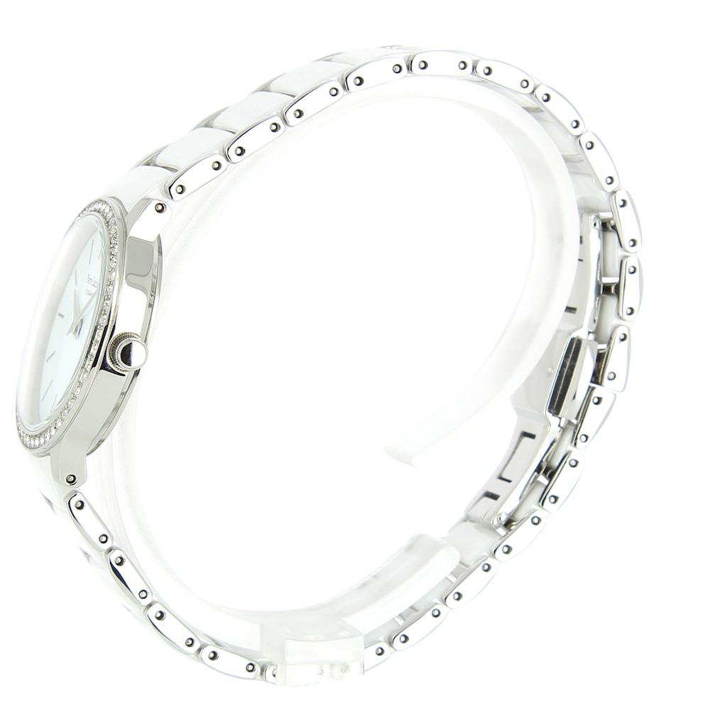 sale retailer 25b7d 720ff ピエールラニエ セラミック ウォッチ P044Mモデル シルバー レディース 腕時計 キラキラ ストーンつき 丸型 ステンレスp044m929  p044m939|フランス時計ピエールラニエ公式