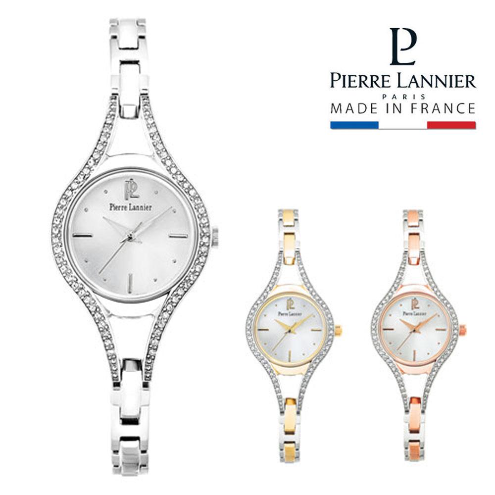 ピエールラニエ ブレスレットウォッチ レディース 腕時計 ストーン 丸型 防水p086j621 p087j721 p088d721