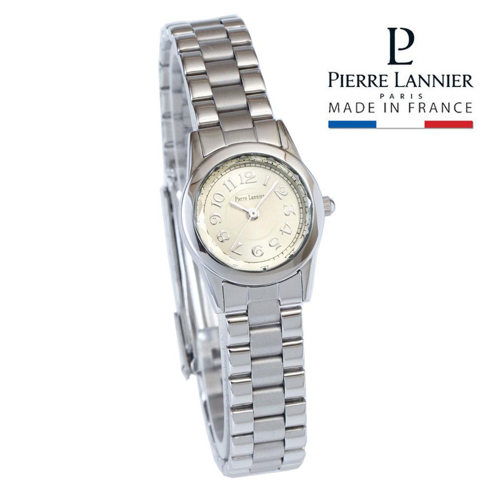 ピエールラニエ ルミエール ブレスウォッチ レディース 腕時計 アンティークテイスト シルバー 丸型 きらきら アクセサリーp867601