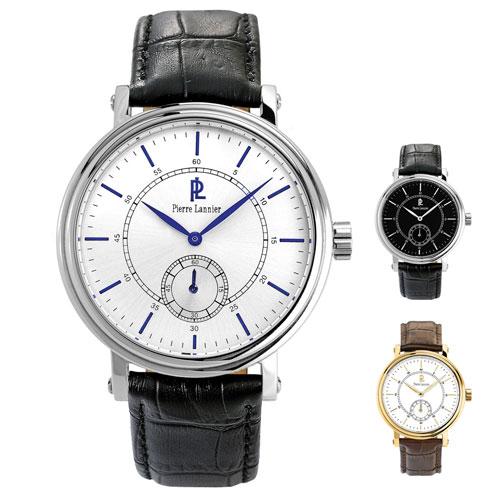 ピエールラニエ スモールセコンドウォッチ メンズ腕時計 丸型 防水p221c123 p221c133 p222c004