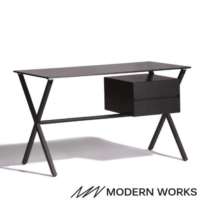 MODERNWORKS モダンワークス デスク 安心の定価販売 オフィスデスク ブラック W1200 大好評です サッジオ 送料込価格