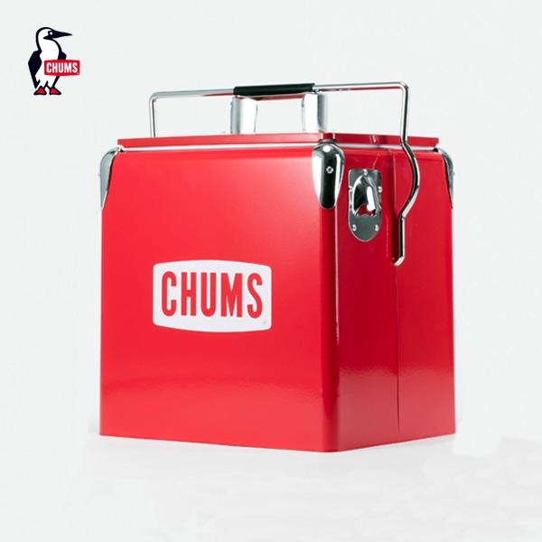CHUMS チャムス チャムススチールクーラーボックス CHUMS Steel Cooler Box (CH62-1128) (2017春夏) アウトドア キャンプ
