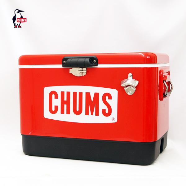 (10%OFFクーポン対象) CHUMS チャムス チャムススチールクーラーボックス54L CHUMS Steel Cooler Box 54L (CH62-1283)
