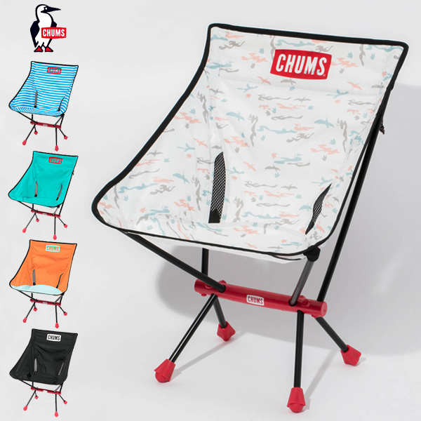 CHUMS チャムス / Folding Chair Booby Foot フォールディングチェアブービーフット (CH62-1170) (2018春夏商品) キャンプ アウトドア 椅子 イス