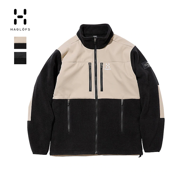 Polartec 300シリーズを採用したタフなフリースジャケット Haglofs 選択 ホグロフス Combination Fleece Jacket Men ランキングTOP5 フリース コンビネーション ジャケット 941512 クーポン対象外 JAPAN LIMITED