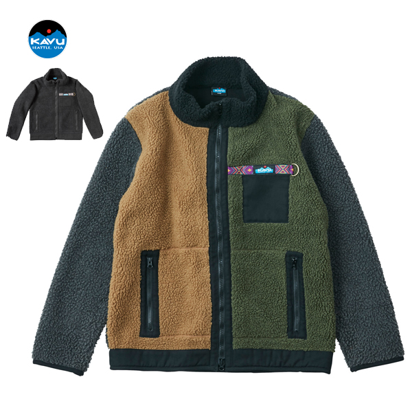 (15%OFFクーポン対象) KAVU カブー / Boa Jacket ボアジャケット (19821106) メンズ アウトドア フリース (2019秋冬) (20%OFF)