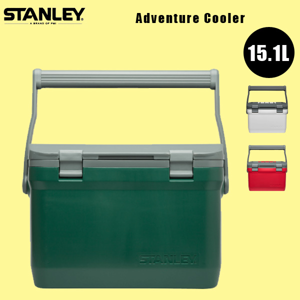 STANLEY スタンレー / ADVENTURE COOLER (16 QT) (15.1L) アドベンチャークーラー BBQ アウトドア 野外 保冷 クーラーボックス (15%OFFクーポン対象商品)