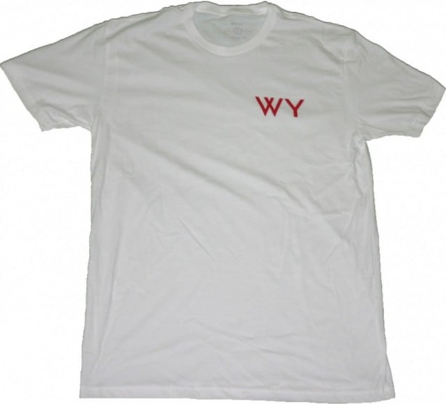 WHAT YOUTH INITIAL T-SHIRT WHITE