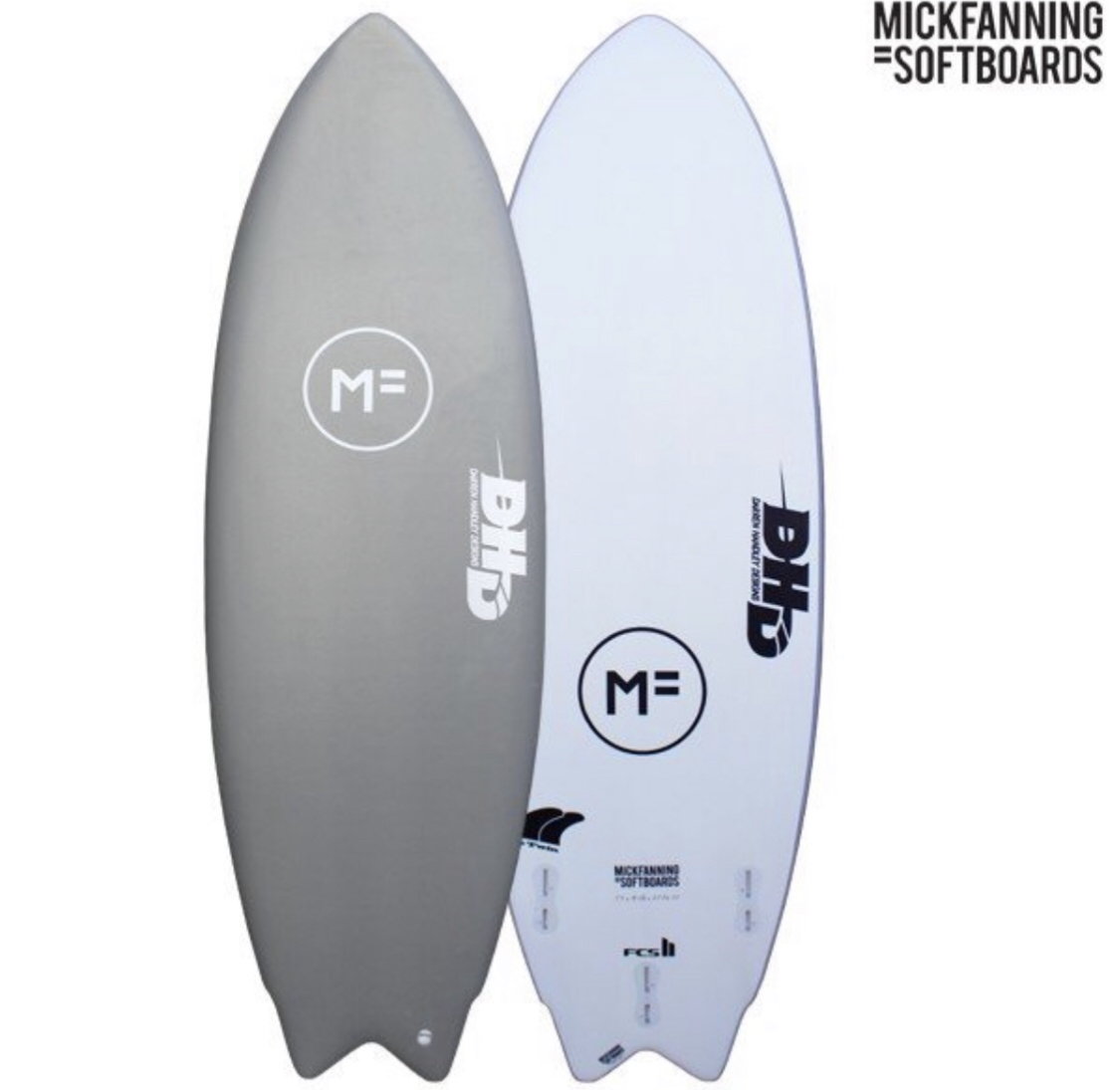 MF MICK FANNING SOFT BOARDS ソフトサーフボード DHD THE TWIN ツイン 6.0 FCS2 3本セット