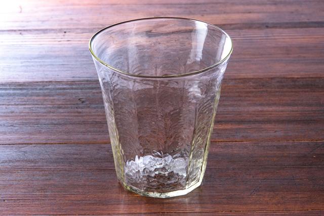 安土草多 吹きガラス ワインクーラー02 作家物