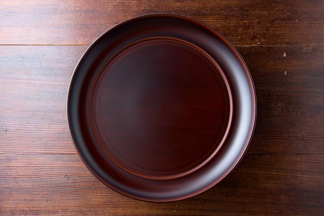 岩舘隆 【岩手、浄法寺】 八寸盛皿 【溜め】