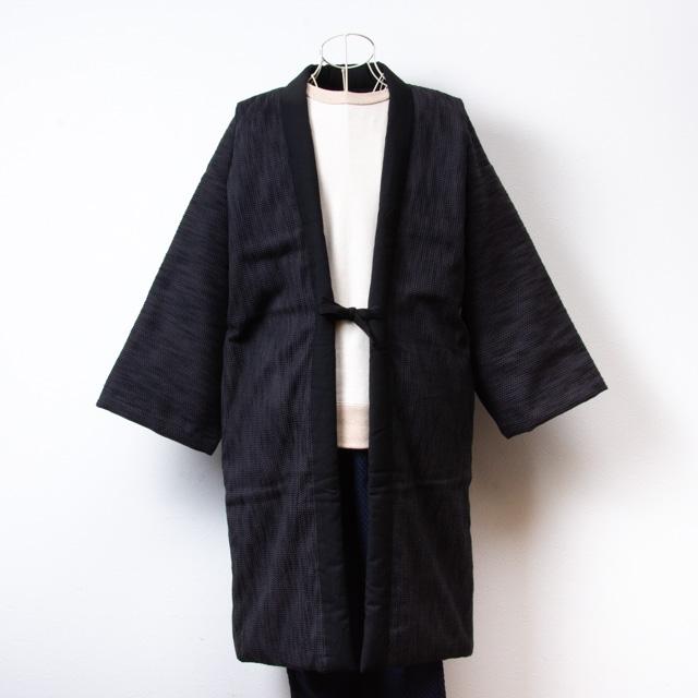 宮田織物 綿入れはんてん 風靡袢天(ふうび) グレー メンズ レディース 日本製 ちゃんちゃんこ おしゃれ