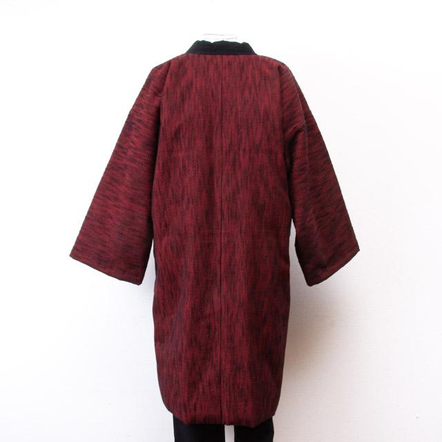宮田織物 綿入れはんてん 風靡袢天 ふうび赤 メンズ レディース 日本製 ちゃんちゃんこ おしゃれBrCdxeoW