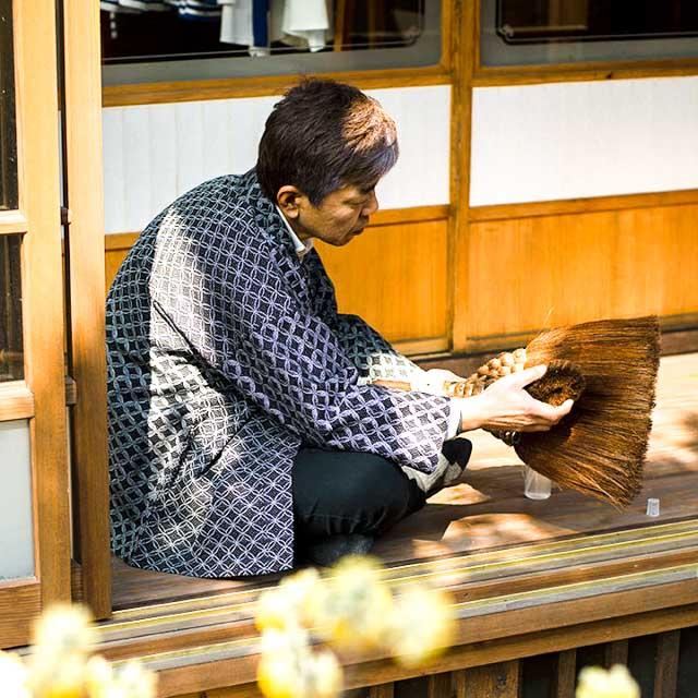 宮田織物 羽織 haori kitunebi ブラック ジャケット メンズ レディース 着物 カジュアル 普段着 男性 女性