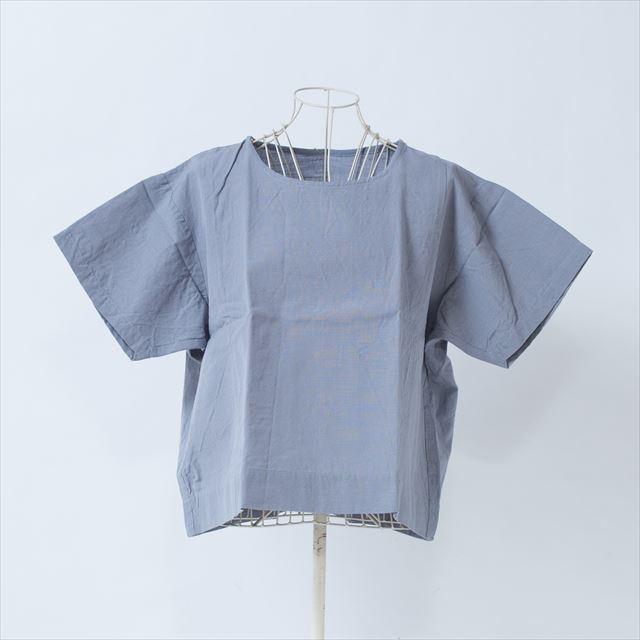 ヤンマ産業 会津木綿Tシャツ ライトグレー