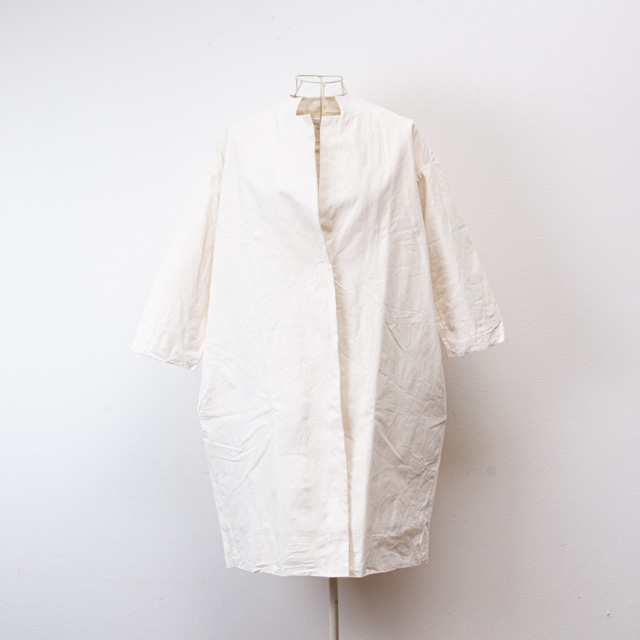 ヤンマ産業 会津木綿 コートジャケット オフホワイト ACT-JK-OW YAMMA