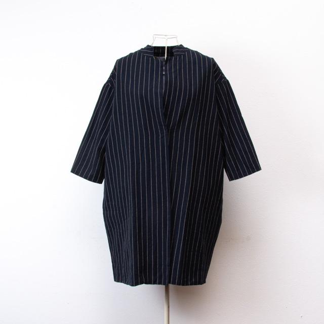 ヤンマ産業 会津木綿 コートジャケット はなふさ縞 ACT-JK-P44 YAMMA