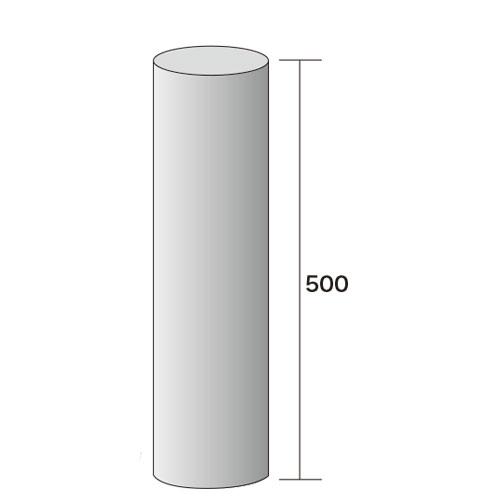 薪ストーブ用煙突直煙筒φ152(ライス口元用)980mm307-SR