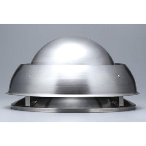 薪ストーブ煙突用 ユーロカウル強風帯用逆流防止トップ黒塗装