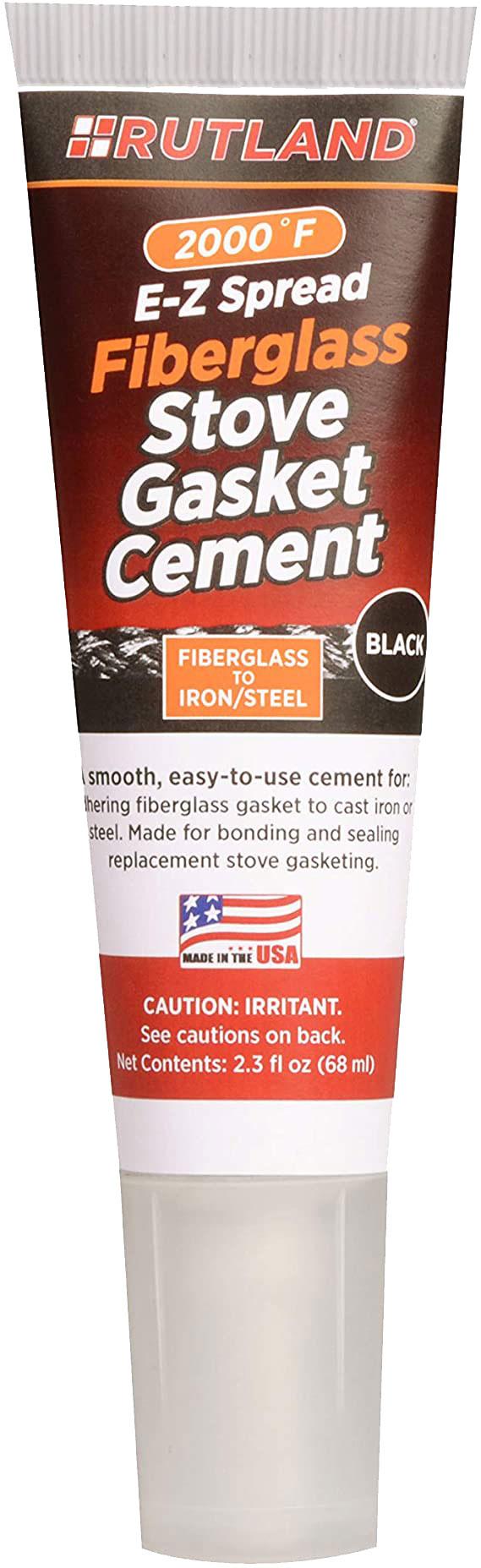 薪ストーブを補修する時に使用します 実物 高い素材 薪ストーブ用 ガスケットセメント