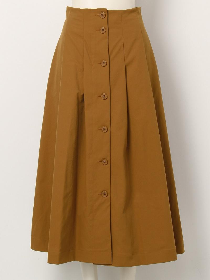 [Rakuten BRAND AVENUE]ツイルボタンスカート FRAY I.D フレイ アイディー スカート【送料無料】