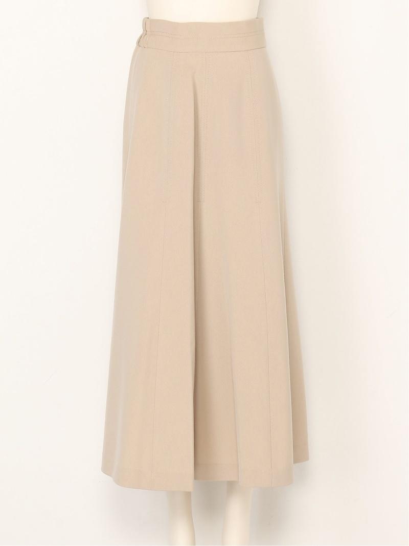 FRAY I.D レディース スカート フレイ アイディー Rakuten Fashion 安全 SALE RBA_E ベージュ 誕生日 お祝い ブラウン ステッチスカート スカートその他 送料無料 45%OFF パープル