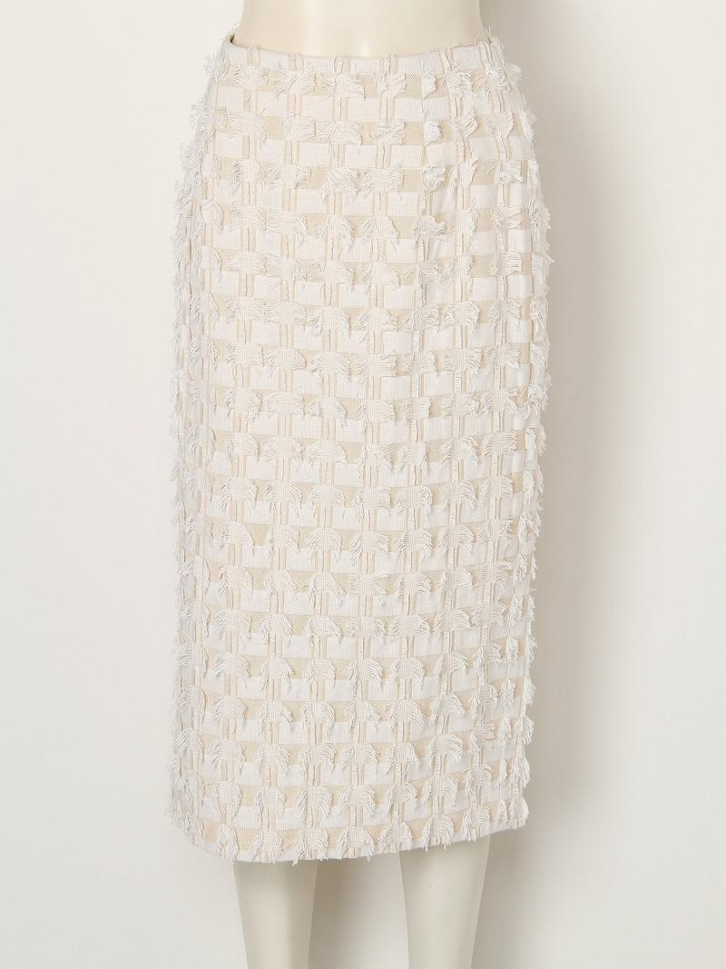 [Rakuten BRAND AVENUE]【SALE/45%OFF】フリンジツイードタイトスカート FRAY I.D フレイ アイディー スカート【RBA_S】【RBA_E】【送料無料】